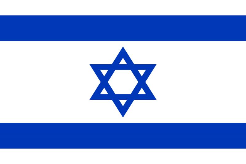 Israel Flag Png image #38237