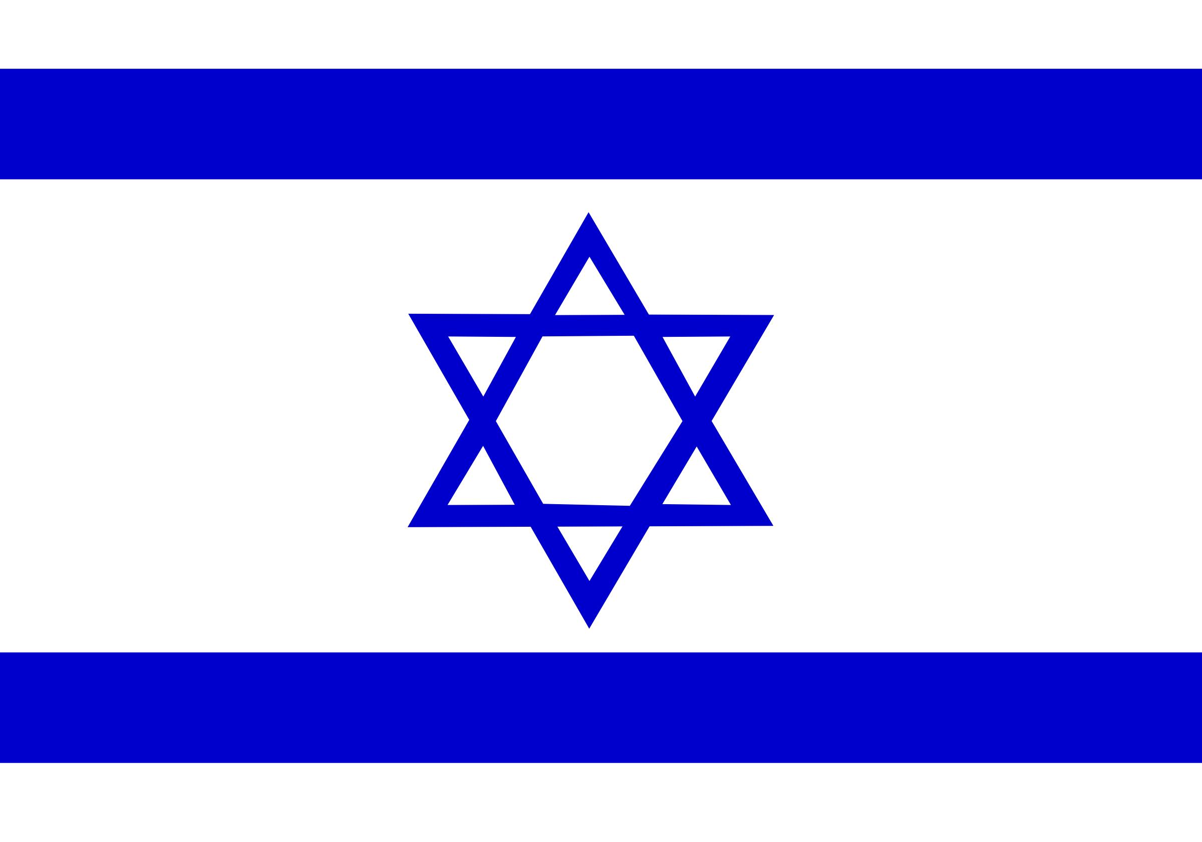 Israel Flag Png image #38247