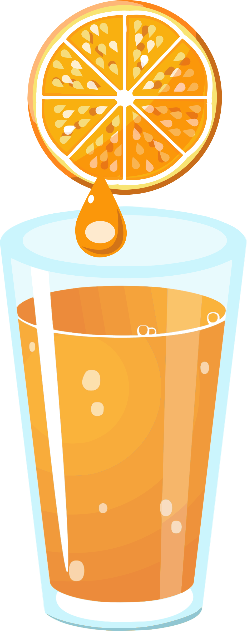 cartoon juice clip art