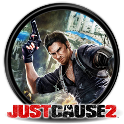 Just Cause 2 with gun Icon