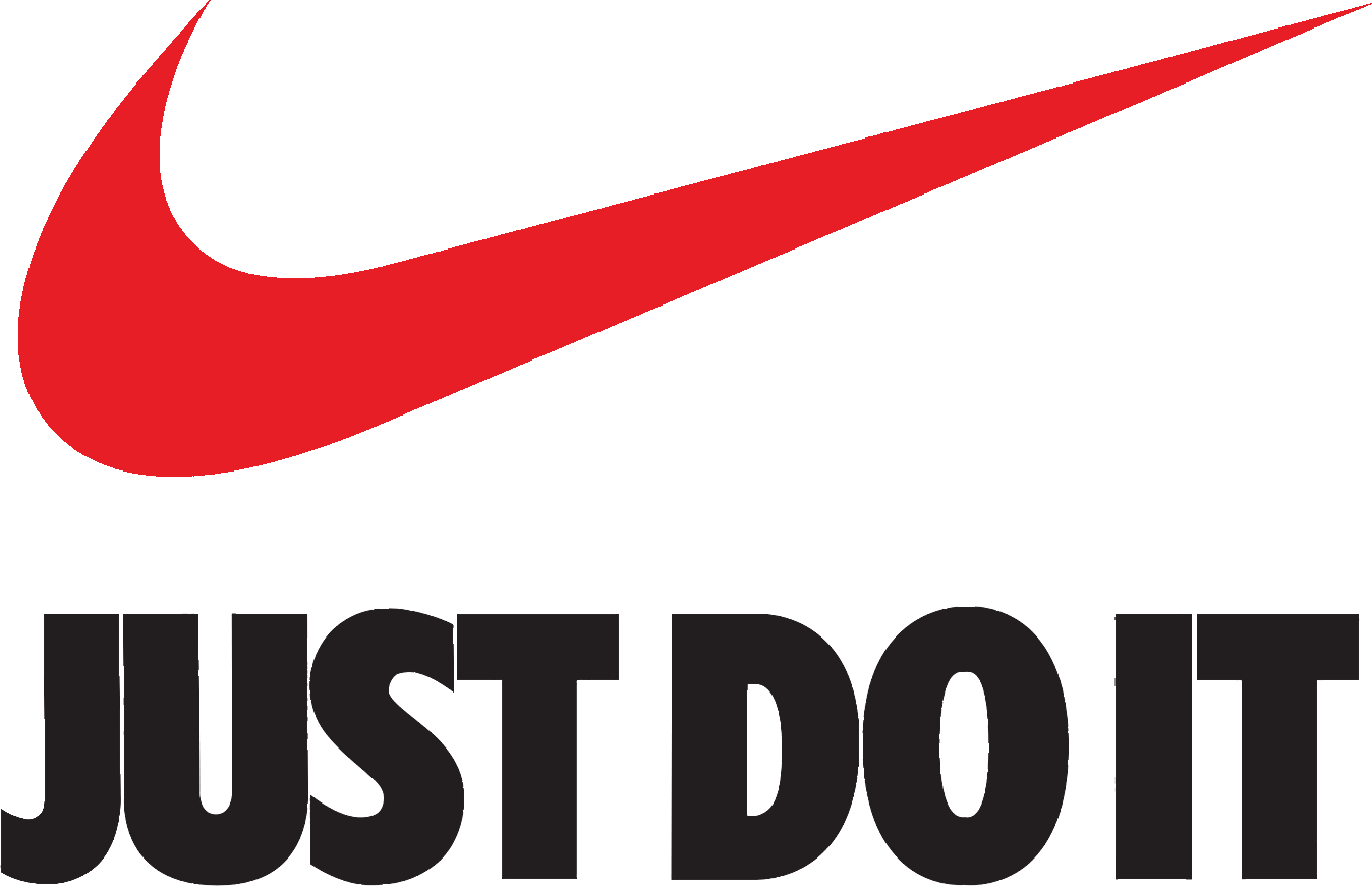 red nike logo just do it png