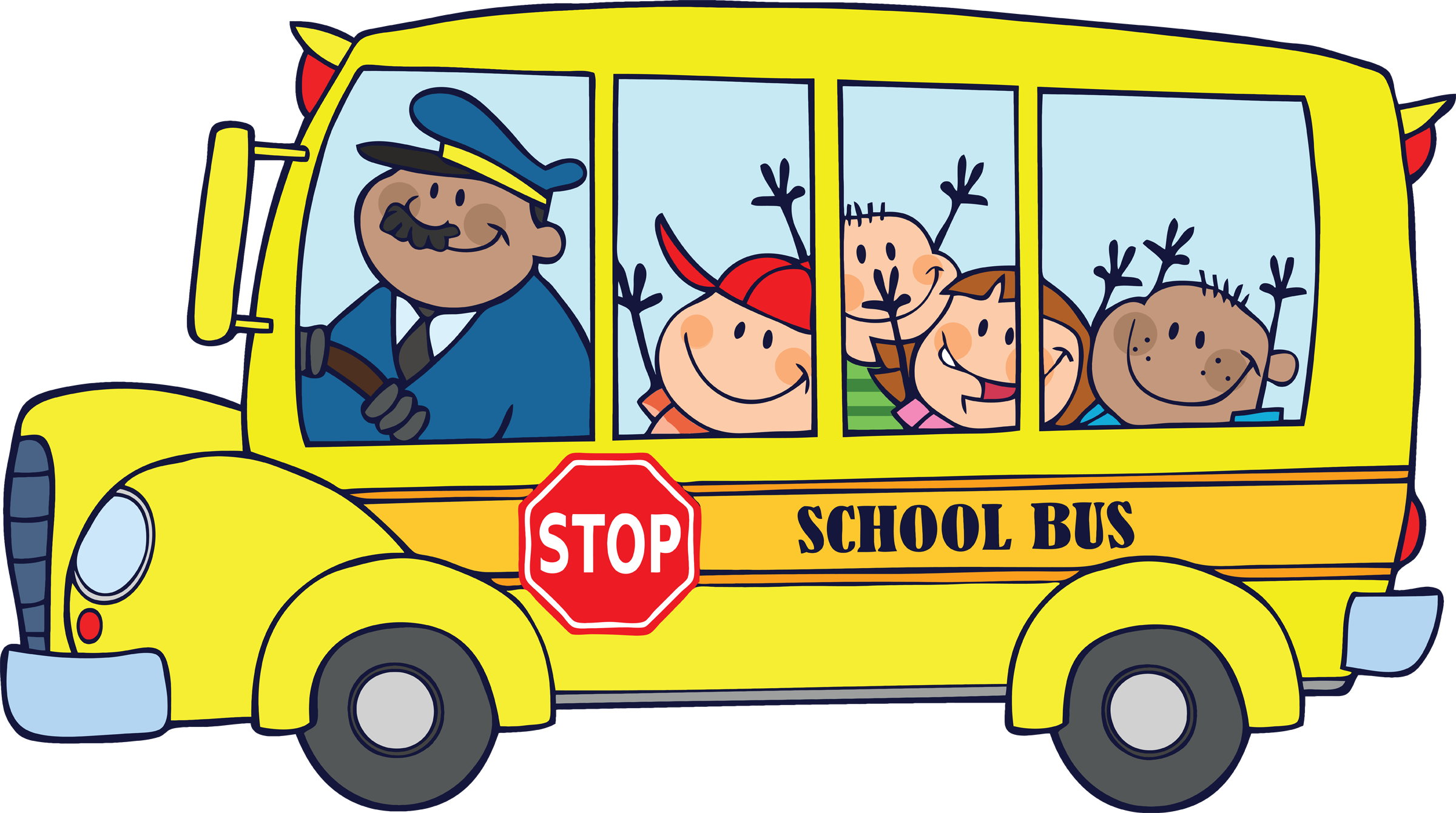 Kids School Bus Driver Png image #28305