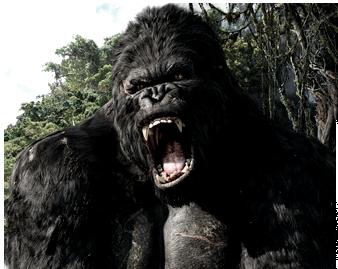 King Kong Gorilla Png image #37890