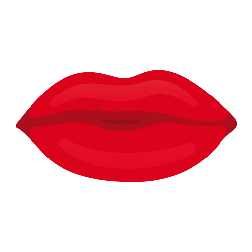 Kiss Lips Icon  image #14300