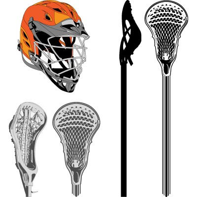 Lacrosse Stick Icon Library image #36195