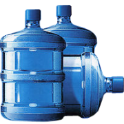 Large Drinking Water Bottles Png image #40002