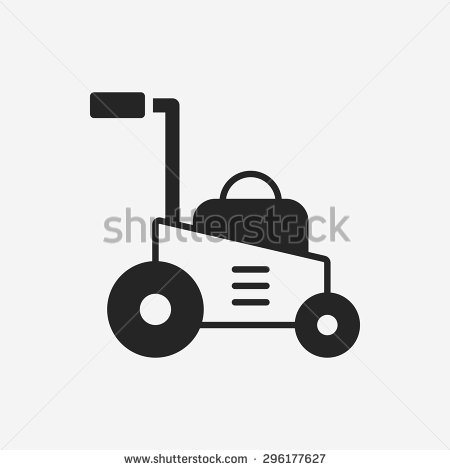 Lawn Mower Transparent Icon image #14729
