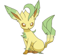Leafeon Free Image Png image #24031