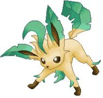 Leafeon Photo Png image #24042