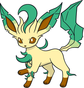 Leafeon Picture Png image #24030