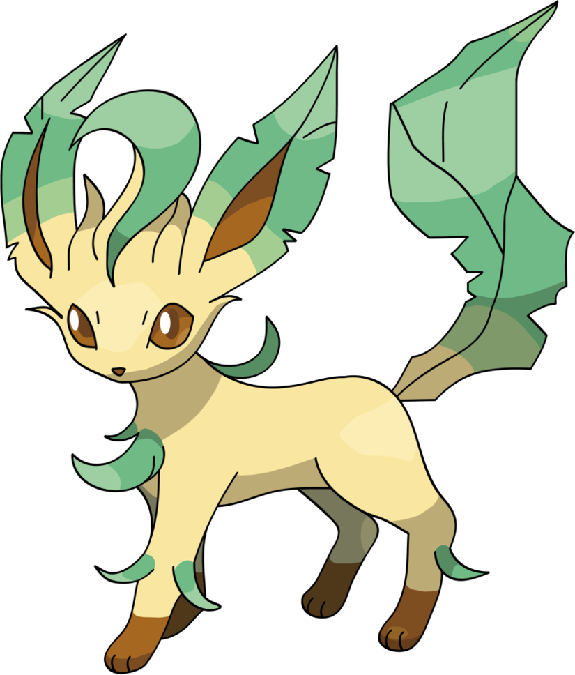 Leafeon Png Available In Different Size image #24028
