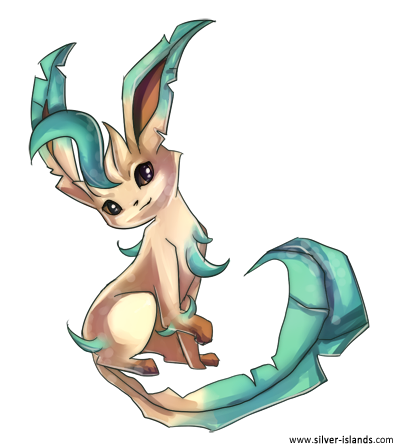 Get Leafeon Png Pictures image #24043