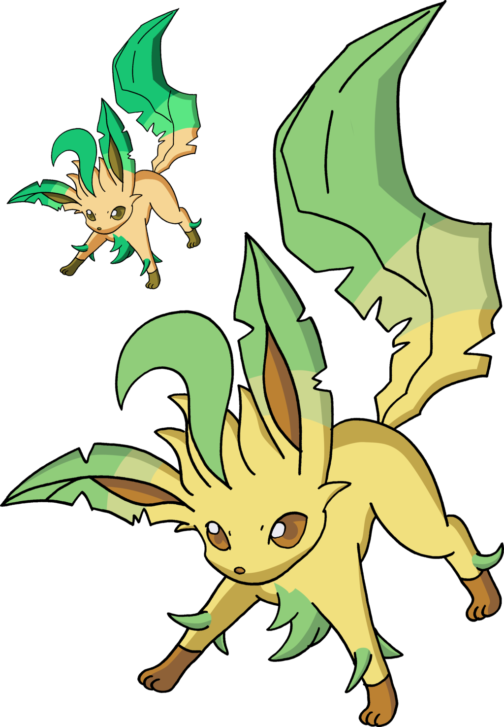 Clipart Leafeon PNG image #24046