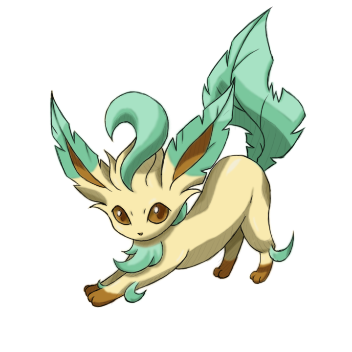 Image PNG Leafeon image #24049