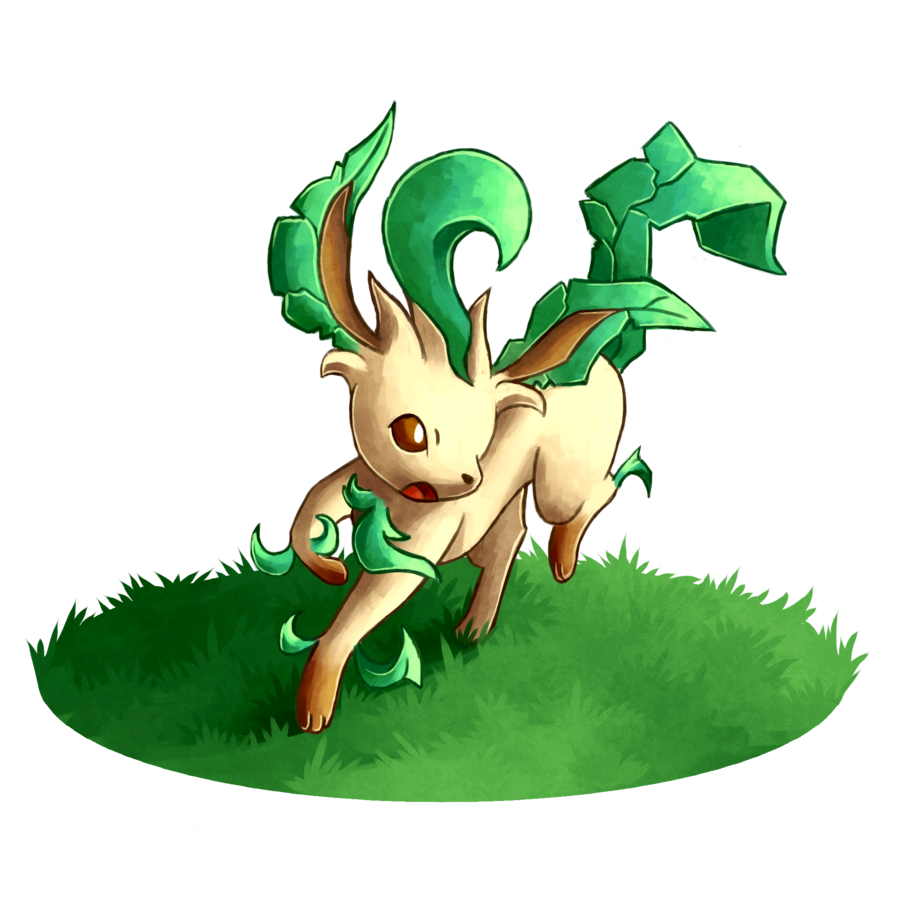 Leafeon HD PNG image #24050