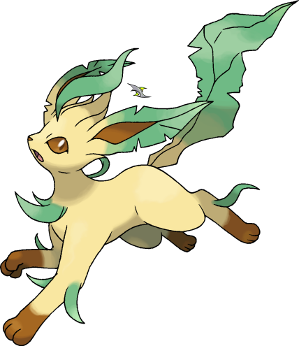 Png Format Images Of Leafeon image #24033