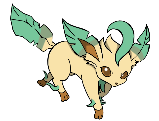 Free Download Of Leafeon Icon Clipart image #24034