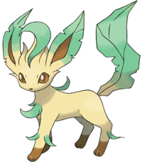 Background Transparent Leafeon image #24035