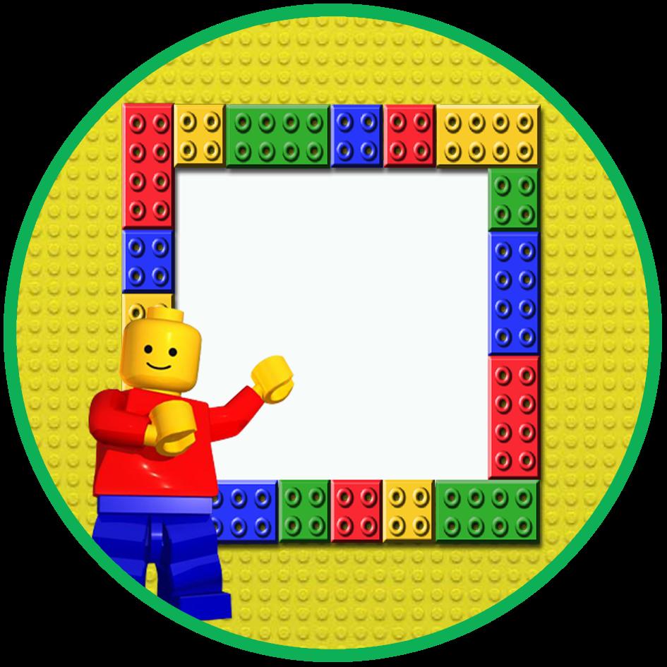 lego border frame background  46637