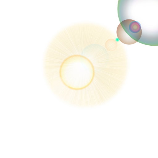 Lens Flare PNG HD image #46202