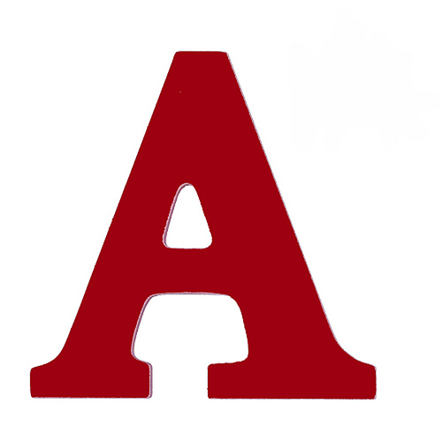 Letter A Vector Png image #8860