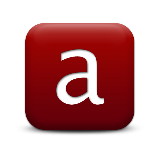Png Free Letter A Icon image #8857