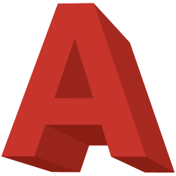 Size Letter A Icon image #8836