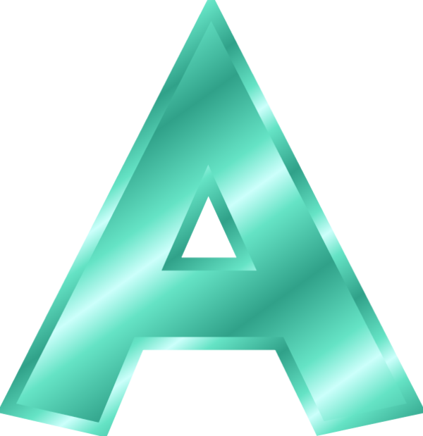 Photos Icon Letter A