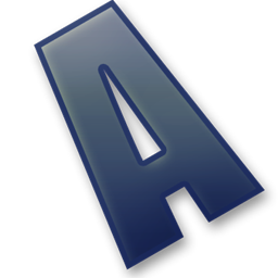 Icon Size Letter A