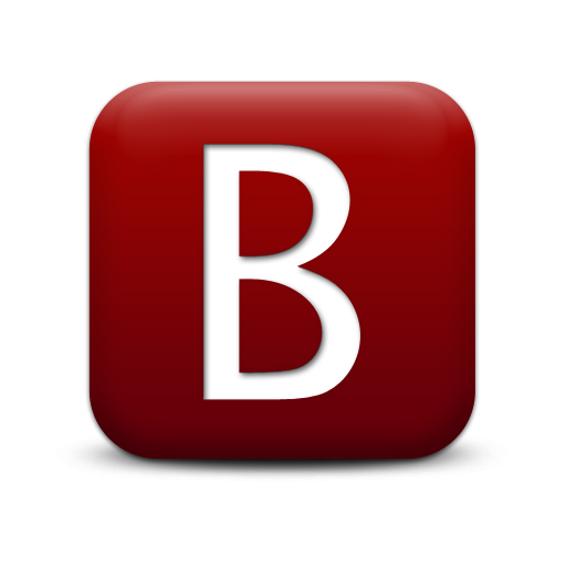 Letter B Save Icon Format image #8876
