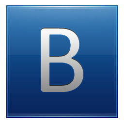 Transparent Png Letter B