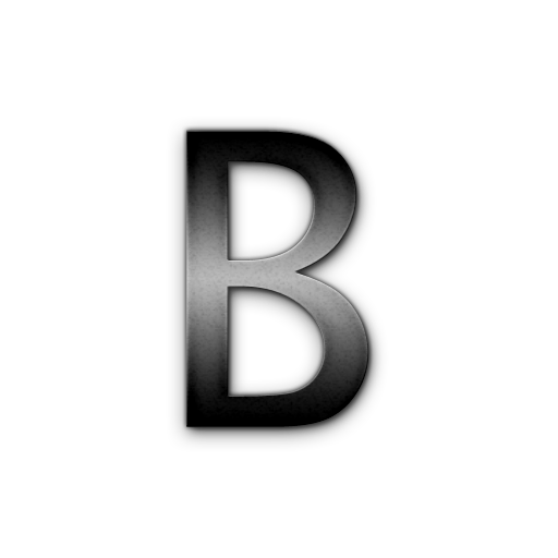 Letter B Icons No Attribution