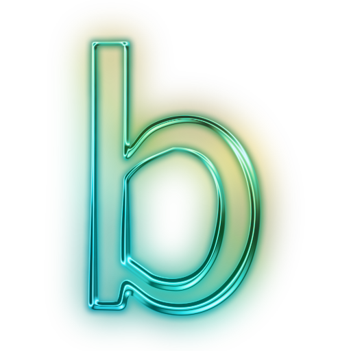 Letter B Save Icon Format image #8869