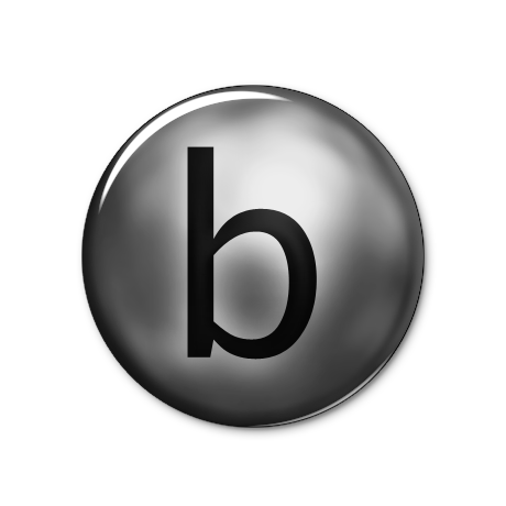 letter-b-icon-png-5 Old Letter Template Background on