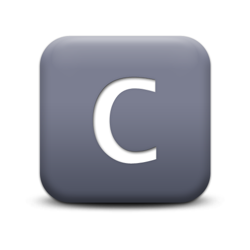 Vector Letter C Icon image #8898