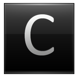 Letter C Save Icon Format image #8919