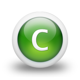 Icon Letter C Free