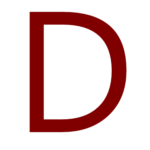 Png Icon Letter D image #8936