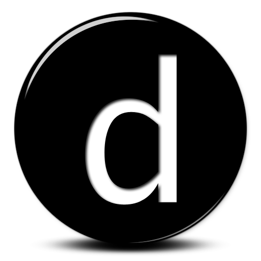 Simple Letter D Png image #8947