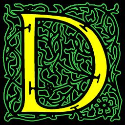 Letter D .ico