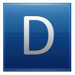 Png Icon Letter D Download