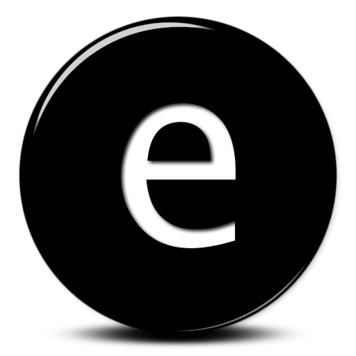 Image Icon Free Letter E