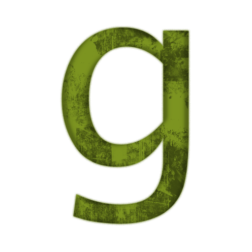 Letter G Vector Icon image #21707
