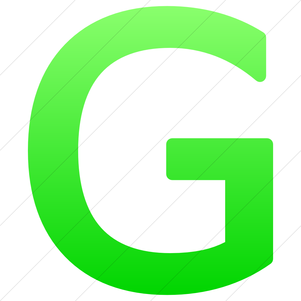 Icon Letter G Symbol image #21713
