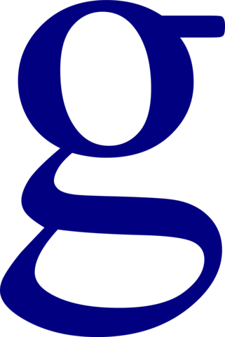 Letter G Icons No Attribution image #21719