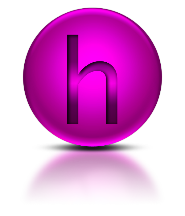 Library Icon Letter H