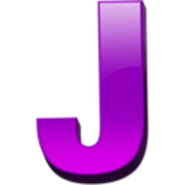 Icon Free Image Letter J image #21780