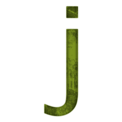 Letter J  Library Icon image #21790