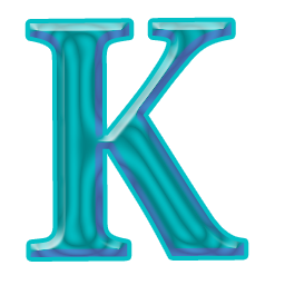 Free High-quality Letter K Icon image #21808