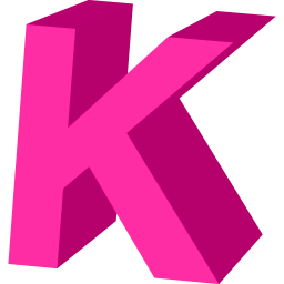 Letter K Save Icon Format image #21797
